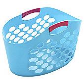 Minky Brights oval flexi baskets