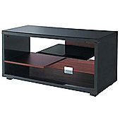 Ateca Crescendo Black and Walnut TV Stand