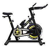 Bodymax B2 Black Indoor Cycle Exercise Bike + Free LCD Monitor (2015 Model)