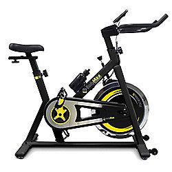 Bodymax B2 Indoor Cycle Exercise Bike (Black) + Free LCD Monitor