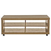 Campus Tv Unit 115 X 50cm Oak