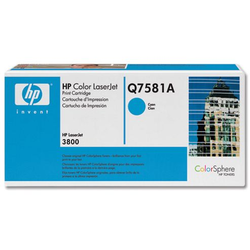 HP 503A LaserJet Toner Cartridge - Cyan