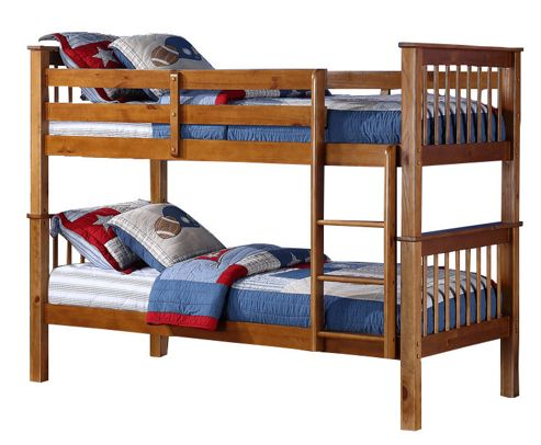Altruna Devon Bunk Bed Frame - Pine