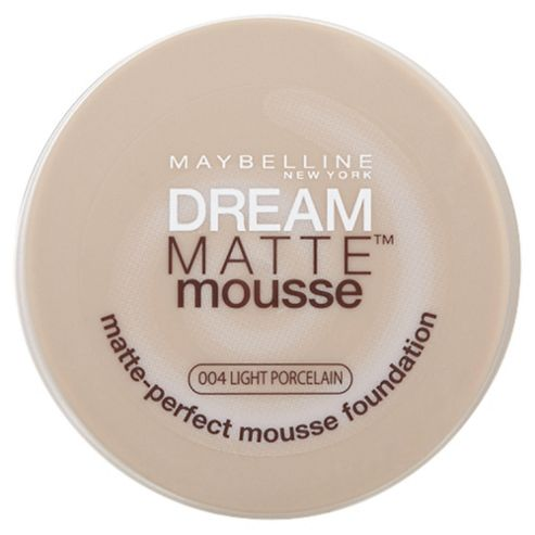 Maybelline Dream Matte Mousse Foundation 04 Light porcelain