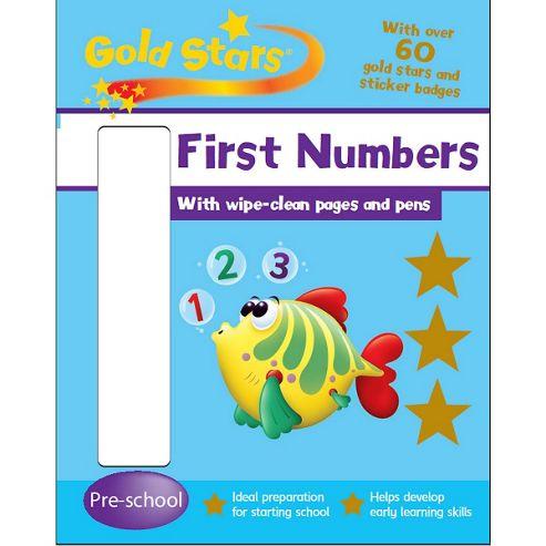 ELC Wipe Clean Numbers 123 Activity Book