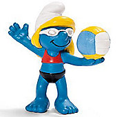 Schleich Smurfs Beach Volleyball Player 20738