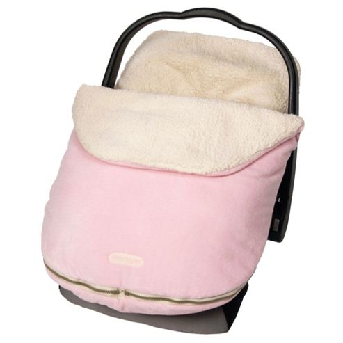Tomy JJ Cole Infant Bundleme Original Footmuff Pink