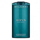 Bulgari Aqua Pour Homme Shampoo & Shower Gel 200ml