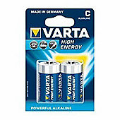 VARTA C LR14 High Energy Alkaline Batteries (Pack of 2)