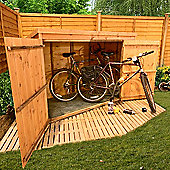 BillyOh 300 3 x 6 Pent Tongue and Groove Bike Store Mini Shed