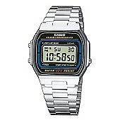 Casio Classic Unisex Chronograph Stainless Steel Watch - A164WA-1VES