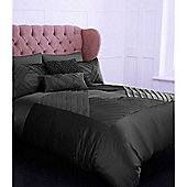 Pied A Terre Grey Diamond Single Duvet Cover In Grey