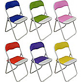 Harbour Housewares Desk Chairs - Blue, Green, Pink, Purple, Red, Yellow - x 6