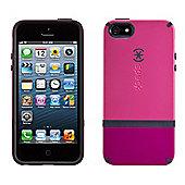 iPhone 5 and iPhone 5s CandyShell Flip Raspberry Pink/Dark Raspberry Pink/Black