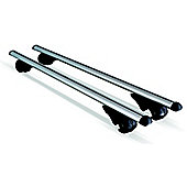 HD Alum Lock Bars For Roof Rails 135cm Max Load 90kgs
