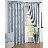 Montrose Ready Made Curtains - Blue