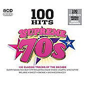 100 Hits - Supreme 70's (5CD)