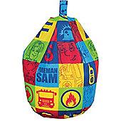 Fireman Sam Bean Bag - Duty