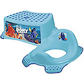 Disney Finding Dory Toddler Toilet Training Seat & Step Stool Combo - Blue