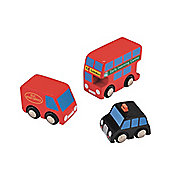 Big City City Vehicle Set