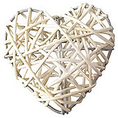 Dobbies  INDOOR  Rattan Hearts Solar String Light - 10pc