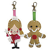 T. Go Create Felt Bag Charms