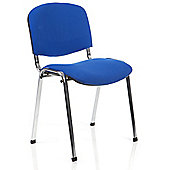 Maestro Kolding Chrome Chair (Set of 4) - Blue