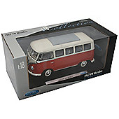 VW Bus Cream 1:18 scale