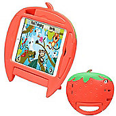 Kids Shock Proof Sally Strawberry Case For The iPad Mini 3 / 2 / 1