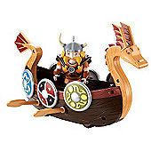 Mike the Knight Longboat Adventure Playset