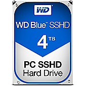 WD 4TB Blue 64 MB 3.5IN SATA 6 Gb/s Solid State Hybrid Drive (SSHD)