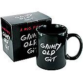 Spencer and Fleetwood Grumpy Old Git Mug