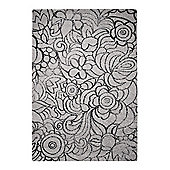Esprit Madison Silver Rug - 80 cm x 150 cm (2 ft 7 in x 4 ft 11 in)