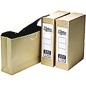 R-Kive Basics Storage Bag File Foolscap W101xD254xH356mm Ref 00110 [Pack 25]