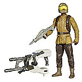 Star Wars The Force Awakens 9cm Resistance Trooper Combine Figure