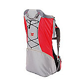 BushBaby Lite Carrier Grey and Red