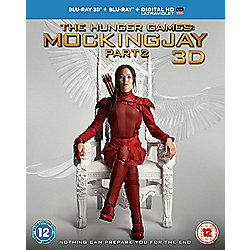 The Hunger Games: Mockingjay Part 2 3D & 2D Blu Ray