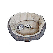 Pet Brands Tweedy Sofa Bed - Medium