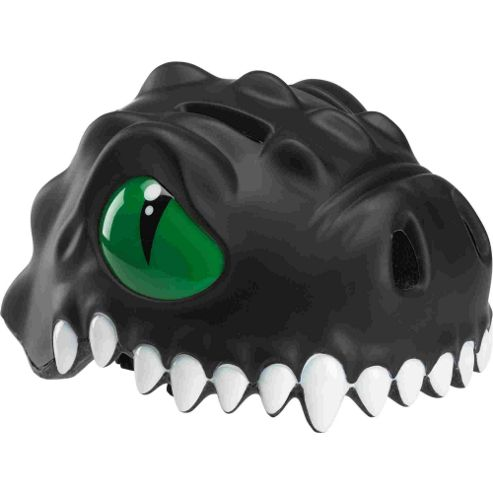 Crazy Stuff Childrens Helmet: Black Dragon S/M.