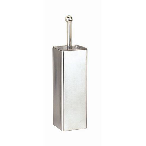 Blue Canyon Square Stainless Steel Toilet Brush and Holder