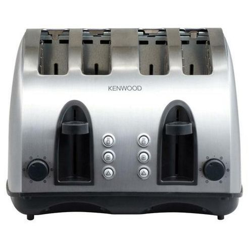 Kenwood TTM406 4 Slice Steel Toaster