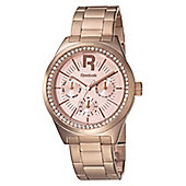 Reebok Classic R Ladies Rose Gold Ion-plated 24 hour Watch RC-CDD-L5-S3S3-33