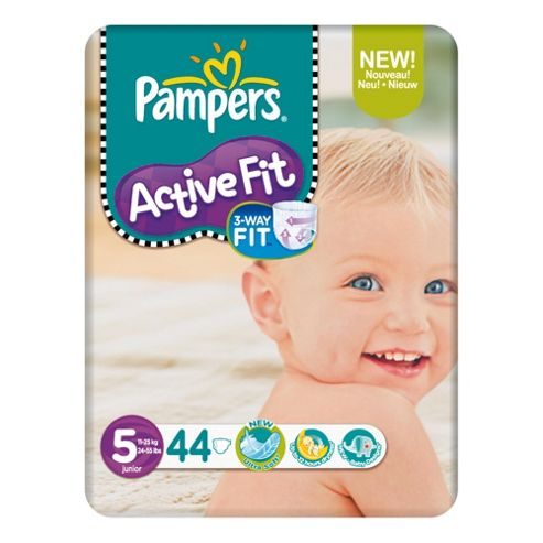 Pampers Active Fit Economy Pack Junior 44 (Size 5)