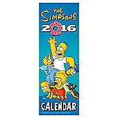 The Simpsons 2016 Slim Calendar