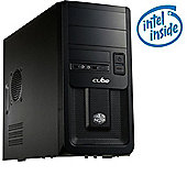 Cube Midi+ Core i3 Wireless Home Series Desktop PC with Microsoft Windows 8.1 Bing
