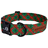Dublin Dog Eco Lucks Winter Wonders Yuletide Dog Collar - Large (38cm-61cm W)