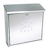 Sterling Elegance Stainless Steel Metal Postbox