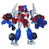 Transformers Construct Bots Beast Hunters Optimus Prime - 51 Piece