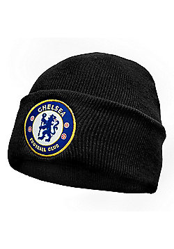 Chelsea FC Knitted Hat - Black