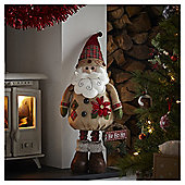4ft Standing Santa Christmas Room Decoration